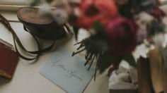 Bohemian Otaduy Dress Wedding Inspiration Shoot Flowers Stationary Rich Colours Verdigris Event Design Styling Decorations Decor Hambledon House